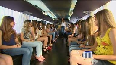 Ônibus do Menina Fantástica passa pela região - Ele passou por Bragança Paulista nesta segunda-feira (8) e segue para São José dos Campos.