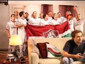 Fluminense lança campanha com jogadores para o programa sócios - Atletas viram atores e participam do comercial.