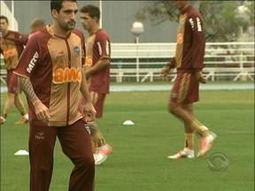 Atlético-MG não terá Ronaldinho para enfrentar o Inter - Inter também estará desfalcado para a partida.