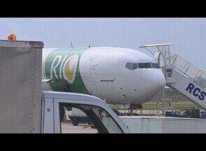 Aeroporto de Porto Velho passa por reformas - A previsão para conclusão das obras é para o fim de 2012.