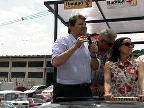 Confira como foi o dia de campanha de Fernando Haddad à prefeitura de SP - O candidato do PT se prepara para disputar o segundo turno das eleições com o candidato José Serra, do PSDB.