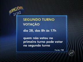 Doze municípios do estado de São Paulo irão realizar segundo turno das eleições - No estado de São Paulo, mais de vinte e cinco milhões de eleitores, de doze municípios, vão realizar segundo turno nas eleições a prefeito. Confira o calendário do processo eleitoral.