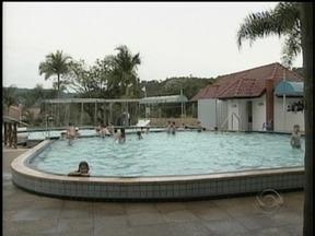 Atrativos naturais mudam a economia de Piratuba - Cidade é conhecida pelas águas termais.