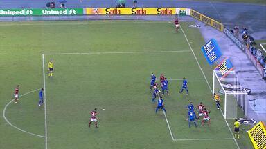 Cruzeiro busca o empate contra o Flamengo no Engenhão - Jogo foi neste sábado, no Rio de Janeiro.