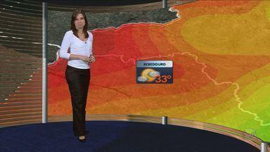 Previsão do tempo - 15/10/2012 - Ribeirão Preto e região - Confira como fica o tempo nesta segunda-feira (15).
