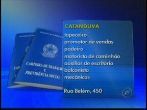 Confira as vagas de emprego disponíveis na região de Rio Preto, SP - Muita gente começa a semana em busca de emprego e as empresas da região noroeste paulista estão precisando de profissionais para trabalhar como cabeleireiro, manicure e também na área de vendas.
