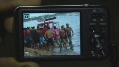 Banhista morre afogado na praia da Ponta Negra, em Manaus - Vítima estava desacompanhada e sem documentos de identificação.