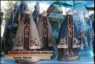 Festa de Nossa Senhora Aparecida em Santa Maria - Comemoração foi no Bairro Tancredo Neves