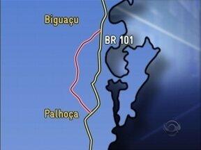 Contorno viário na BR-101 é discutido em Florianópolis - Contorno viário na BR-101 é discutido em Florianópolis