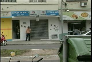 Lotérica é assaltada em Santa Maria, RS. - Um cliente foi ameaçado com uma arma.