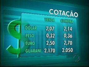 Confira a cotação das moedas para o começo da semana - Veja com está o valor das principais moedas que circulam pela fronteira
