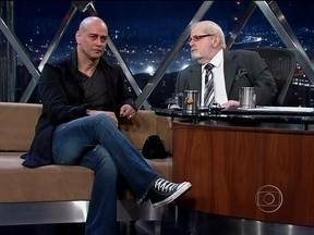 Jô Soares entrevista o ator Marcello Antony - Ele falou sobre o visual careca para a peça Macbeth. Antony também falou sobre sua família