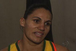 Oito atletas de MS estão em Palmas no brasileiro de boxe olímpico - Entre os pugilistas, uma é da seleção brasileira: a campo-grandense Aline Santana.