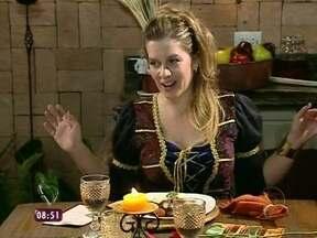 Relembre o jantar de Luciana em sua 'Taberna Medieval' - Anfitriã se emocionou, chorou por conta do prato principal, mas também agradou