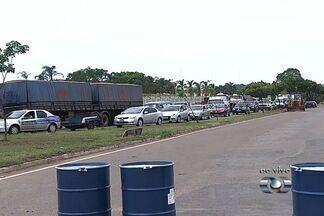Trecho interditado da Avenida Perimetral deve ser liberado nesta quinta-feira - Via estava bloqueada por conta de obra da Saneago.