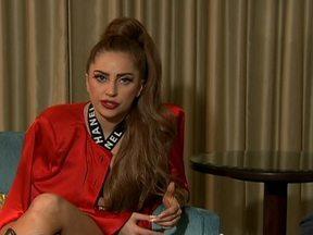 """Confira trechos inéditos da entrevista de Lady Gaga - O Fantástico conversou com Lady Gaga no Caribe. Aproveite para conferir trechos inéditos da entrevista da cantora. Lady Gaga contou ao repórter Álvaro Pereira Júnior um pouco das características da nova turnê: """"A dança é muito moderna e orgânica""""."""