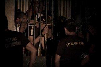Agente prisional é mantido refém em Tucuruí - Presos fizeram rebelião na penitenciária.