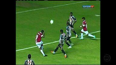 Veja os gols do empate entre o Galinho e o Internacional pela Copa do Brasil Sub-20 - Time júnior do Atlético eliminou um dos times mais competitivos da categoria.