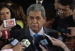 Governadores saem divididos do encontro com o ministro Guido Mantega - Os representantes do estados foram chamados à Brasília para discutir um novo modelo de cobrança no Imposto Sobre Circulação de Mercadorias e Serviços (ICMS). O objetivo é acabar com a chamada guerra fiscal.