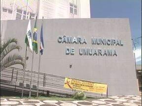 Promotoria investiga fraude em concurso da Câmara de Vereadores de Umuarama - A justiça determinou o bloqueio dos bens do presidente da câmara e de mais cinco funcionários.