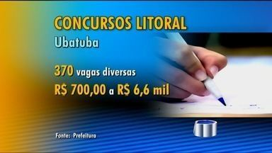 Prefeituras do Litoral Norte abrem concursos públicos - Estão abertos dois concursos públicos, em Ubatuba e São Sebastião. A Prefeitura de São Sebastião está contratando 150 professores de educação básica.