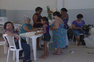 Os preparativos para a Romaria da Penha - Andor começou a ser decorado na manhã deste sábado.