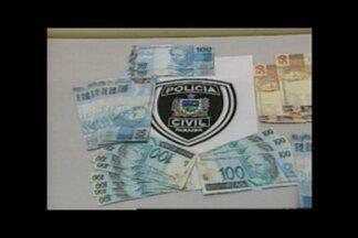 Aposentado vendeu uma moto e descobriu que dinheiro que recebeu no pagamento era falso - Fato aconteceu no município de Picuí, no Curimataú do Estado.
