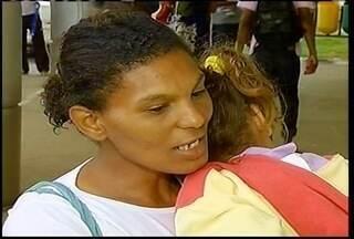 Pais percorrem hospitais de Montes Claros atrás de pediatras - Pais percorrem hospitais de Montes Claros atrás de pediatras