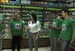 Equipe Verde renova apoio com empresa de medicamentos para o Mãos Amigas - Empresa vai ajudar gincana pela terceira vez.