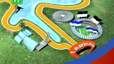 O que o Mineirão tem a ver com a Volta da Pampulha? - Este ano o estádio mineiro, que vai ser palco de grandes jogos durante a Copa do Mundo de 2014, vai ser o ponto de largada e chegada da Volta da Pampulha.
