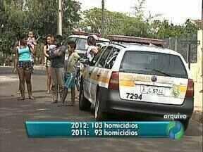 A um mês do fim do ano, homicídios em 2012 já superaram os registros de 2011 - Mesmo assim, o balanço feito pela Polícia Civil em Londrina não é negativo.