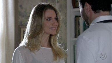 Salve Jorge - Capítulo de quinta-feira, dia 06/12/2012, na íntegra - Antonia decide ir para Istambul com Celso