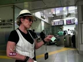 Relembre a viagem que Ana Maria fez de trem bala pelo Japão - Apresentadora comenta a aventura inesquecível