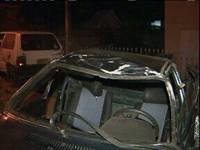 Acidente deixa 6 feridos na região metropolitana de Curitiba - A polícia ainda apura detalhes do acidente entre dois carros em Almirante Tamandaré.