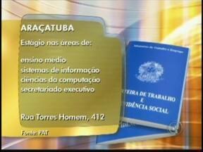 Confira as vagas de emprego anunciadas no Bom Dia Cidade de Rio Preto, SP - As vagas são desta segunda-feira (10) para toda a região de São José do Rio Preto (SP). Oportunidade para quem pretende trabalhar na área de vendas ou em supermercados. Confira.