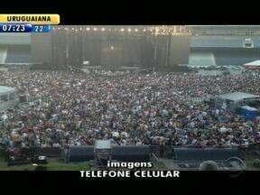Show de Madonna leva 43 mil ao Olímpico, em Porto Alegre - Cantora se apresentou nesse dmingo.