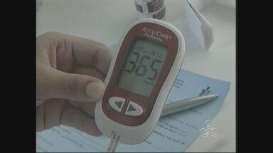 Diabetes mata quatro vezes mais que a Aids no Brasil - O Ministério da Saúde afirmou que o Diabetes mata quatro vezes amis que a Aids no Brasil e supera o número de vítimas no trânsito. São 50 mil mortes por ano. Na Região Norte, em dez anos, 4.280 pessoas já foram vítimas da doença.