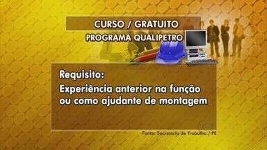 Programa Qualipetro oferece cursos gratuiros na área de petróleo e gás - Há 160 vagas para cursos de mecânico montador. Inscrições podem ser feitas até sexta (14), na Agência do Trabalho, no centro do Recife.