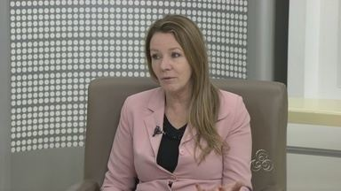 Vanessa Grazziotin é entrevista no Bom dia Amazônia - A terceira audiência pública da Comissão Parlamentar de Inquérito sobre o Tráfico Nacional e Internacional de Pessoas será realizada no Amazonas na próxima segunda-feira (10). Senadora Vanessa Grazziotin estará presente no evento.