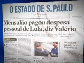 Depoimento de Marcos Valério ao Ministério Público divide Brasília - Valério revelou no depoimento, ainda segundo O Estado de São Paulo, que teria feito dois repasses para Lula pagar as despesas pessoais de Lula. Mas só especificou um deles, de R$ 100 mil, por meio da empresa Caso, do então assessor Freud Godoy.