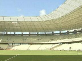 Terminam as obras na Arena do Castelão em Fortaleza - O estádio é o primeiro onde as obras para a Copa do Mundo de 2014 já terminaram. Agora, a Arena do Castelão atende os padrões internacionais.