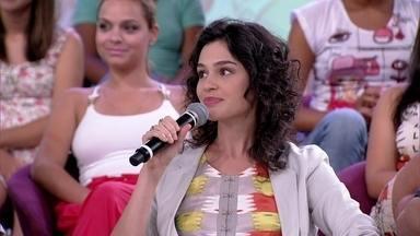 Maria Flor pensa em ter filhos em breve - Atriz diz que tem muita experiência com os pequenos