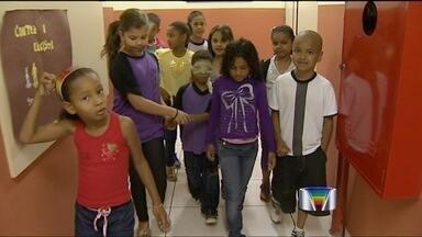 Rede estadual em São José dos Campos (SP) faz ação contra o bullying - Escolas da rede estadual, em São José dos Campos (SP), fazem ação para evitar o bullying nas salas de aula.