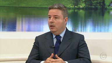 Em entrevista ao MGTV 1ª Edição, governador Anastasia falou de reinauguração do Mineirão - Ele falou também sobre economina de Minas Gerais em 2013.
