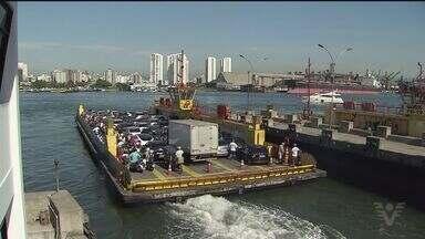 Dersa anuncia sistema que deverá diminuir espera por balsas - Sistema irá monitorar o funcionamento das embarcações.