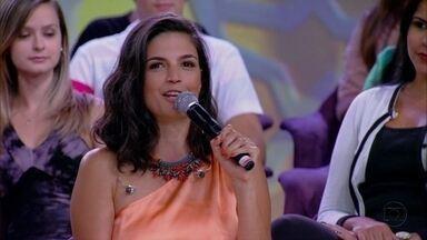 Emanuelle Araújo acha que tem homem gosta de chamar atenção - Atriz acha que há uma carência masculina