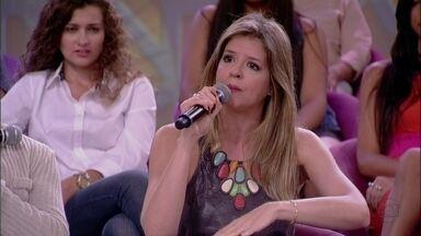 Mariana Santos é amiga de ex-namorados - Atriz ainda não sabe se o atual namorado tem ciúme