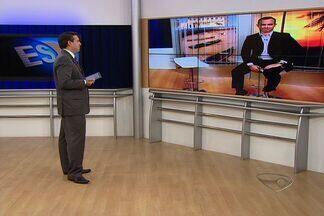 Prefeito de Linhares, Nozinho Correa, diz que esqueceu de entrevista - Ele seria entrevistado pelo Bom Dia ES
