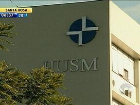 Polícia Civil investiga origem de ferimentos em criança nascida em hospital de Santa Maria - Os ferimentos foram notados pelos pais da menina.