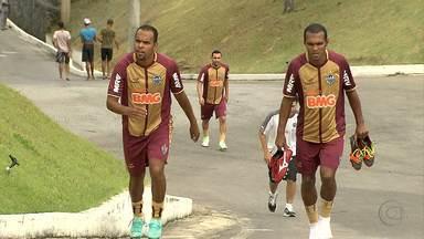 Os irmãos Alecsandro e Richarlyson jogam juntos no Atlético-MG - Eles nunca haviam trabalhado juntos.